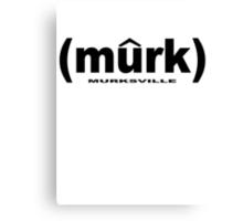 (murk) BLK Canvas Print