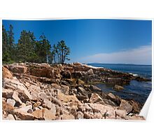 Ship Harbor - Acadia National Park, ME 07-13-13 Poster