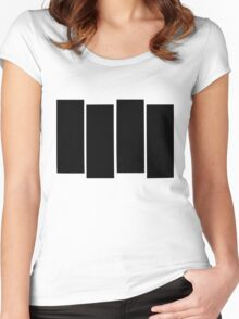 Black Flag shirt Women's Fitted Scoop T-Shirt