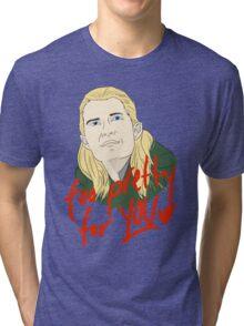 Too Pretty Tri-blend T-Shirt