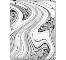 Liquid White No.2 - Luminosity series iPad Case/Skin