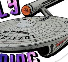 Star Trek - Boldly Going Sticker