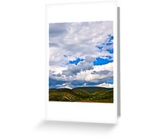 Afternoon Clouds  Greeting Card