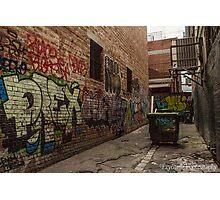Graffiti Laneway Photographic Print