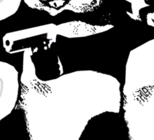 Funny! Pulp Pandas Sticker