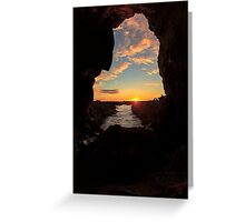 Abalone Cove Greeting Card