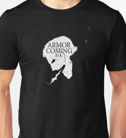 Armored Titan is Coming T-Shirt