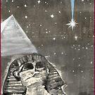 Sphinx and Pyramid II by Origa
