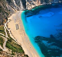 Myrtos beach & Casper the friendly ghost by Hercules Milas