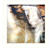 alice springs Art Print