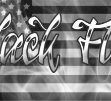 Black Flag Tee 3 Sticker