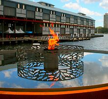 Firey Fish at the Pier by Michael Matthews