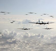 B-17 Bomb Group by James Biggadike