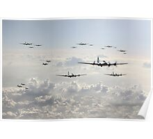 B-17 Bomb Group Poster