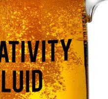 The Creative Fluid Sticker