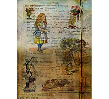 Alice's Adventures Photographic Print