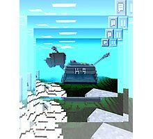 Minecraft K-9 Photographic Print