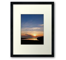 On Golden Pond...... Framed Print