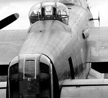 Lancaster Bomber by Mike Rivett