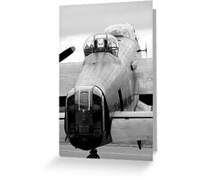 Lancaster Bomber Greeting Card