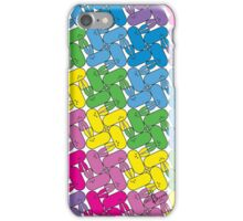 Tessellation Pattern Pinwheeling Stadium GeoBunnies iPhone Case/Skin