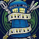Timey Wimey (iphone case1) by Ameda Nowlin