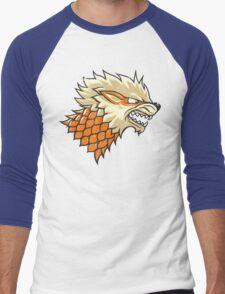 STARKANINE Men's Baseball ¾ T-Shirt
