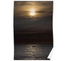 Sailing into the night Poster
