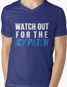 Watch Out For The Icy Patch Mens V-Neck T-Shirt