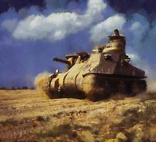 M3 Lee tank by Kai Saarto