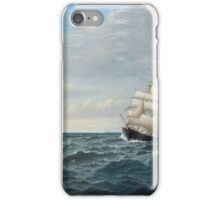 OSCAR KLEINEH, SAILING BY THE COAST iPhone Case/Skin