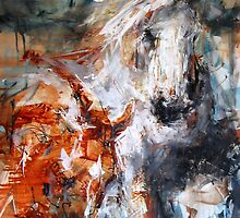 Free & Wild - Horses Outback by Nina Smart