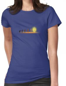 Visionary Evolution Womens Fitted T-Shirt