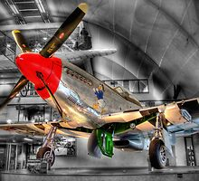 North American P-51D Mustang 2 - Hendon - HDR by Colin J Williams Photography