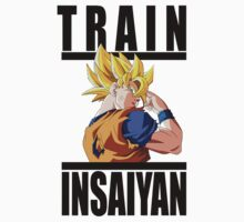 Train Insaiyan - Goku by irig0ld