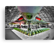 Vulcan and Payload - Hendon - HDR Canvas Print