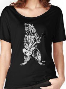 Bear Guitar Women's Relaxed Fit T-Shirt