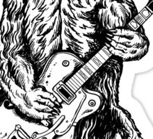 Bear Guitar Sticker