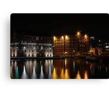 At the hobour Canvas Print