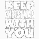 keep christmas by indigostore