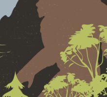 Vintage Bigfoot Framed Sticker