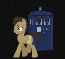 I don't want to go - Doctor Whooves Kids Clothes