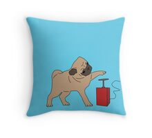 If it's not pugs, then it's the bomb Throw Pillow