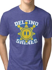 Delfino Shines - Colour Tri-blend T-Shirt