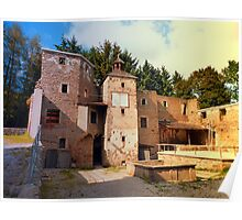 The ruins of Reichenau castle | architectural photography Poster