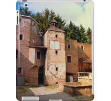 The ruins of Reichenau castle | architectural photography iPad Case/Skin