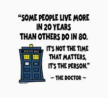 Doctor Who, 20 Years vs 80 Years Unisex T-Shirt