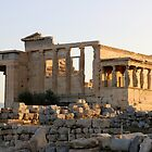 Sunrise over Erechtheion by Ren Provo
