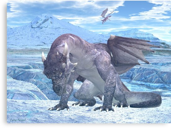Ice Dragon by LoneAngel
