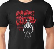 Rorschach - Who watches the WATCHMEN Unisex T-Shirt